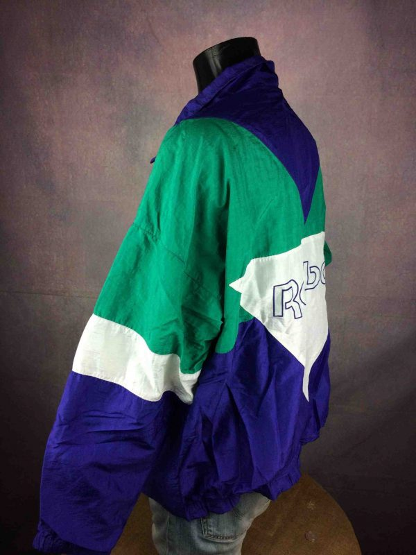 REEBOK Windbreaker VTG 90s Made in France Gabba Vintage 5 scaled - REEBOK Windbreaker VTG 90s Made in France