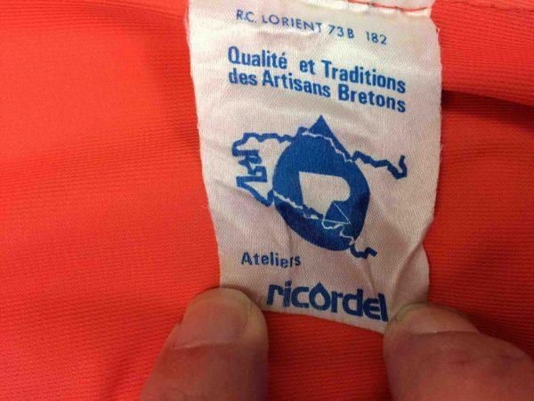 RICORDEL Atelier Breton Raincoat Cire 70s Gabba Vintage 8 scaled - VESTE Ciré Ricordel Vintage Atelier Breton