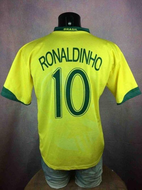 RONALDINHO Jersey #10 VTG 00s Brazil Replica - Gabba Vintage