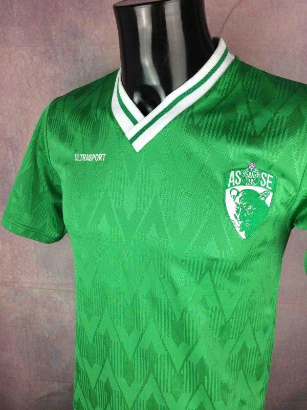 SAINT ETIENNE Jersey Vintage 80s Home ASSE Gabba Vintage 1 scaled - SAINT ETIENNE Maillot Vintage 80s ASSE Vert