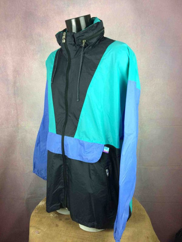 SALIK Rain Jacket 90s Windbreaker Rave Y2K Gabba Vintage 2 scaled - SALIK Rain Jacket 90s Windbreaker Rave Y2K