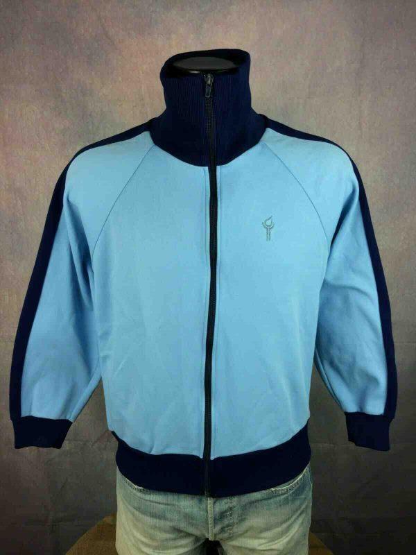 SALIK Veste Vintage 80s Made in Belgium Hood Gabba Vintage 4 - SALIK Veste Vintage 80s Made in Belgium Hood