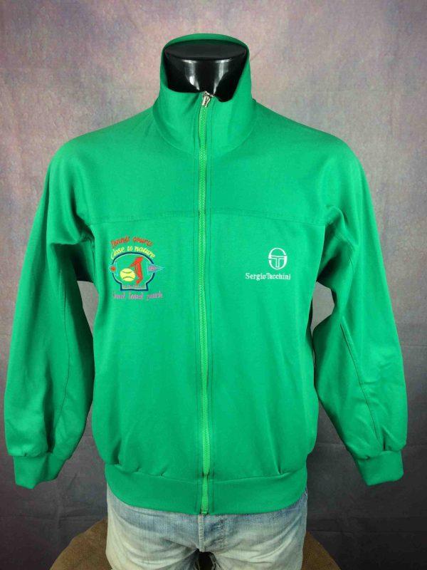 SERGIO TACCHINI Jacket VTG 80s Made in Italy Gabba Vintage 1 scaled - SERGIO TACCHINI Veste Vintage Année 80 Italy
