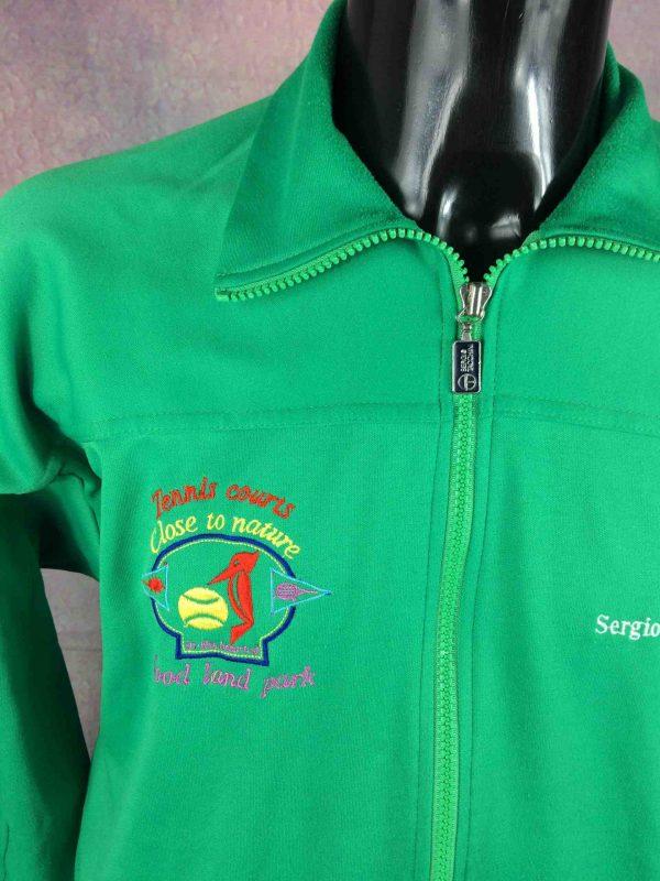 SERGIO TACCHINI Jacket VTG 80s Made in Italy Gabba Vintage 4 scaled - SERGIO TACCHINI Veste Vintage Année 80 Italy