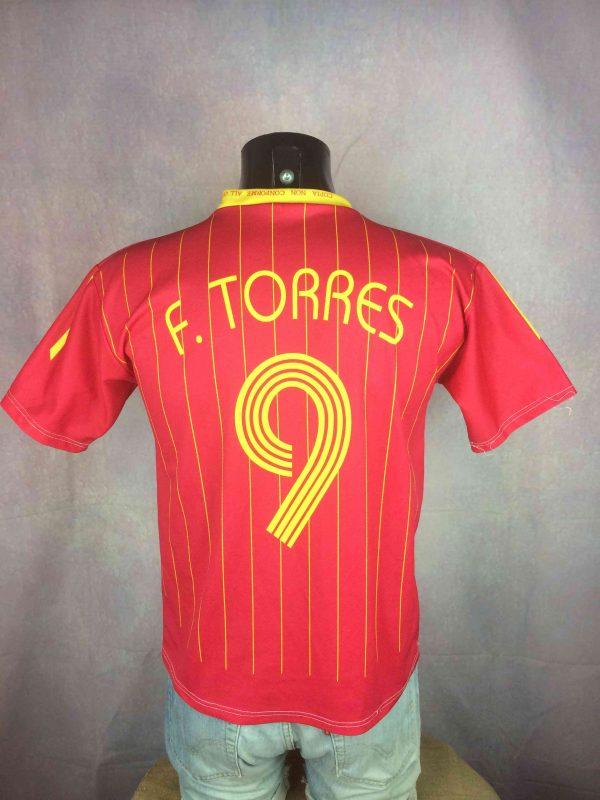 SPAIN Jersey 2006 Home Torres 9 Replica Gabba Vintage 1 scaled - SPAIN Jersey 2006 HomeTorres #9 Replica