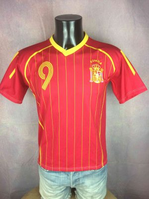 SPAIN Jersey 2006 Home Torres #9 Replica - Gabba Vintage