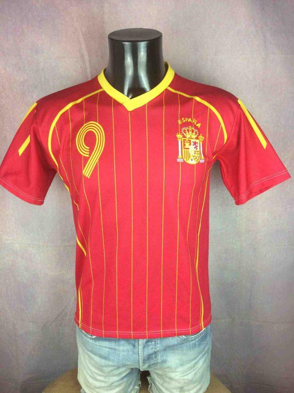 SPAIN Jersey 2006 Home Torres #9 Replica - Gabba Vintage