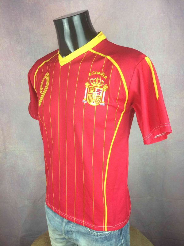 SPAIN Jersey 2006 Home Torres 9 Replica Gabba Vintage 3 scaled - SPAIN Jersey 2006 HomeTorres #9 Replica