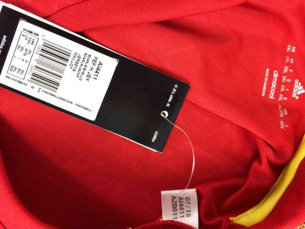 SPAIN Jersey 2015 2016 Home Adidas BNWT Gabba Vintage 1 scaled - SPAIN Jersey 2015 2016 Home Adidas BNWT