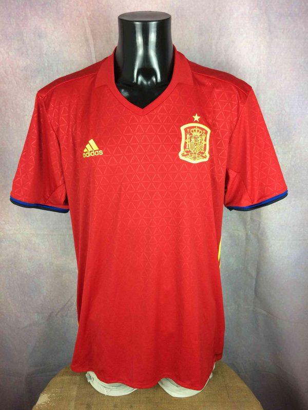 SPAIN Jersey 2015 2016 Home Adidas BNWT Gabba Vintage 2 scaled - SPAIN Jersey 2015 2016 Home Adidas BNWT