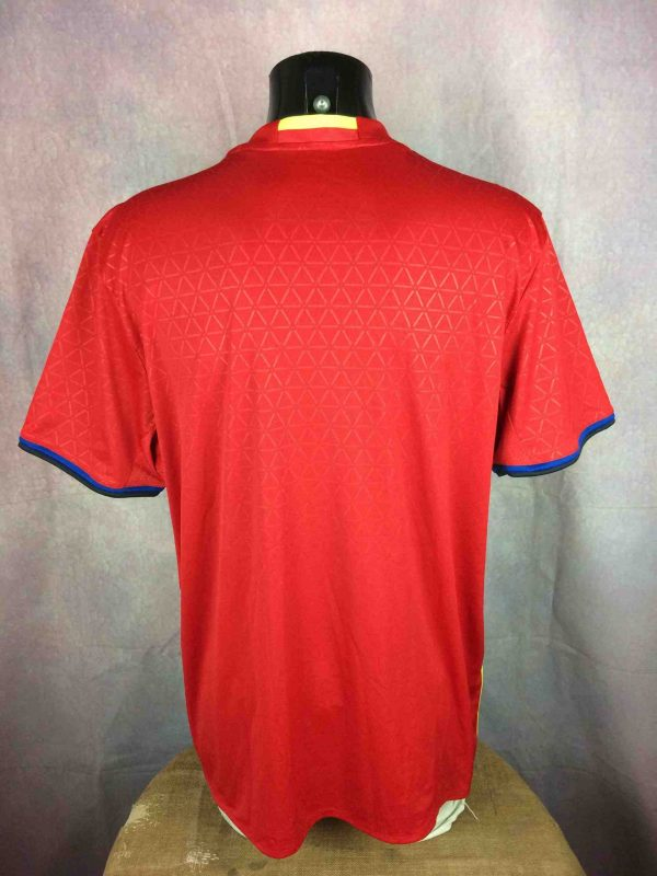 SPAIN Jersey 2015 2016 Home Adidas BNWT Gabba Vintage 4 scaled - ESPAGNE Maillot 2016 Home Adidas Neuf Foot