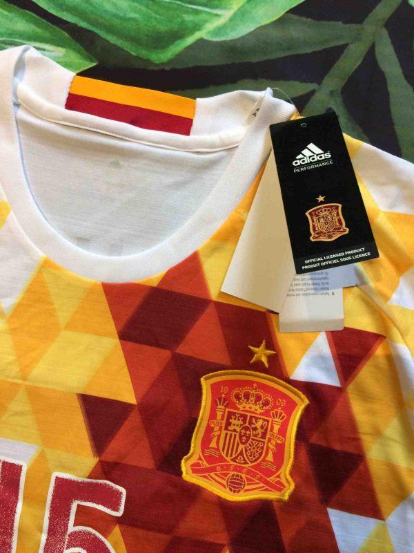 SPAIN Jersey 2016 Ramos 15 Away Adidas BNWT Gabba Vintage 3 scaled - ESPAGNE Maillot 2016 Ramos Away Adidas Neuf