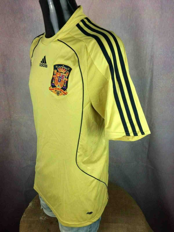 SPAIN Jersey Away 2008 2010 Adidas Euro Cup Gabba Vintage 2 - ESPAGNE Maillot Away 2008 Adidas Euro Foot
