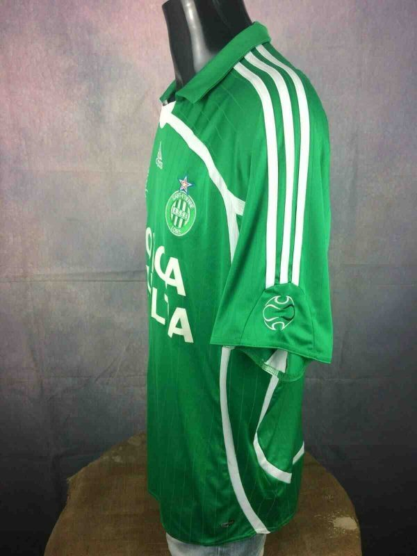 ST ETIENNE Maillot 2006 Adidas Home ASSE Gabba Vintage 1 - ST ETIENNE Maillot 2006 Adidas Home ASSE