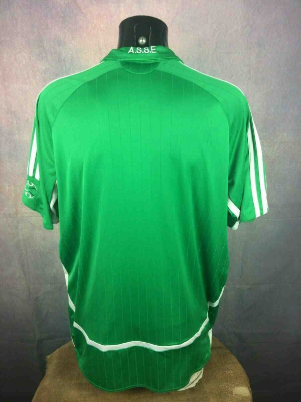 ST ETIENNE Maillot 2006 Adidas Home ASSE Gabba Vintage 2 - ST ETIENNE Maillot 2006 Adidas Home ASSE