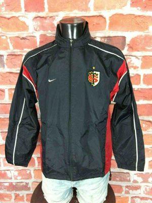 STADE TOULOUSAIN Rain Jacket Nike 2002 2003 - Gabba Vintage