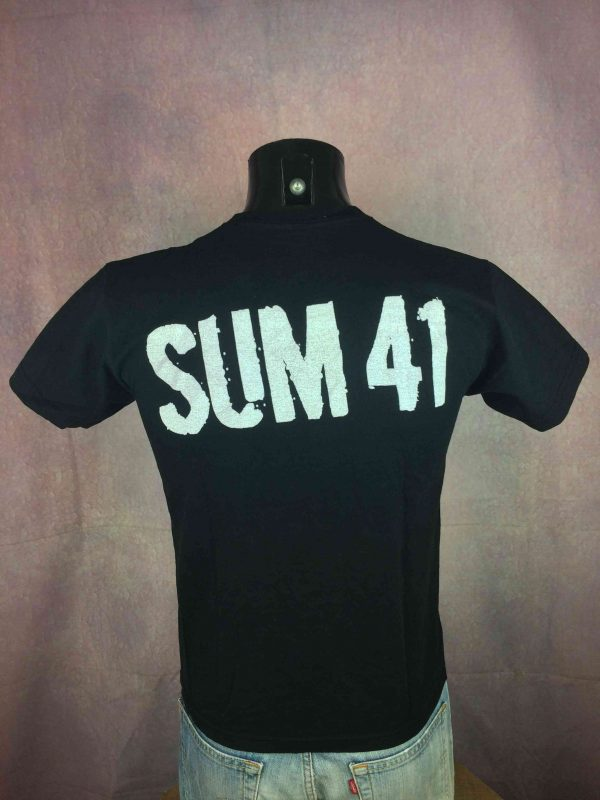 SUM 41 T Shirt Harder Faster Stronger Punk Gabba Vintage 3 scaled - SUM 41 T-Shirt Harder Faster Stronger Punk