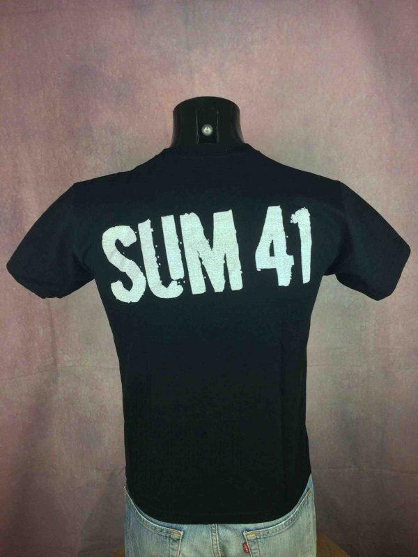 SUM 41 T Shirt Harder Faster Stronger Punk Gabba Vintage 3 scaled - SUM 41 T-Shirt Harder Faster Stronger Punk
