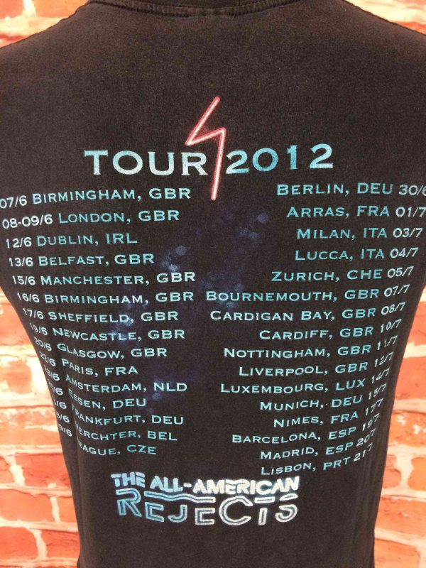 THE ALL AMERICAN REJECTS T Shirt Tour 2012 Gabba Vintage 1 scaled - THE ALL-AMERICAN REJECTS T-Shirt Tour 2012