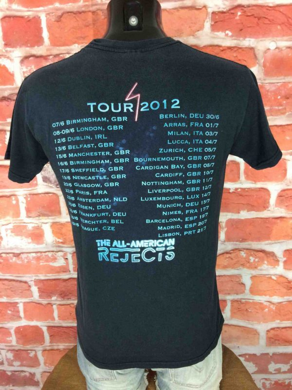 THE ALL AMERICAN REJECTS T Shirt Tour 2012 Gabba Vintage 3 scaled - THE ALL-AMERICAN REJECTS T-Shirt Tour 2012