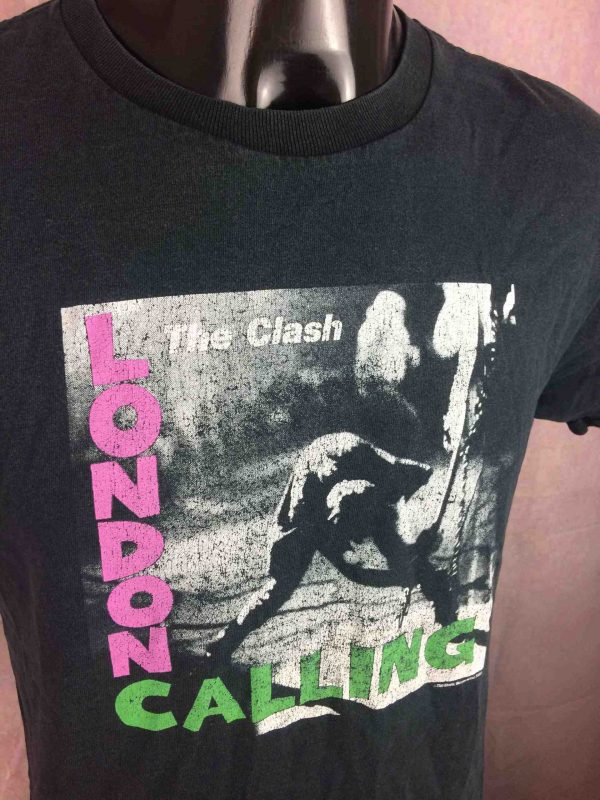 THE CLASH T Shirt London Calling VTG 2003 Gabba Vintage 3 scaled - THE CLASH T-Shirt London Calling Vintage 2003