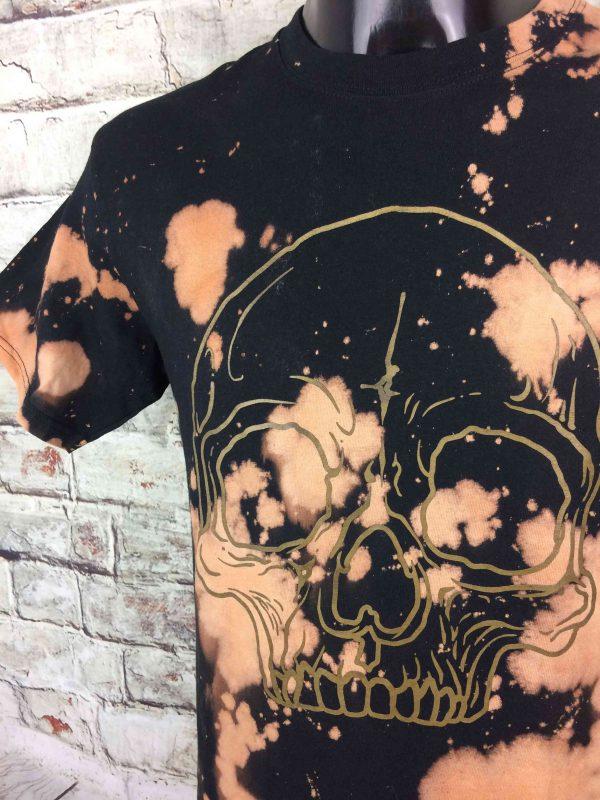 THE MUSIC DEALERS T Shirt Tie Dye Skull Crane Black Or Design Rock Double Sided Gabba Vintage 3 scaled - THE MUSIC DEALERS T-Shirt Tie Dye Skull Rock