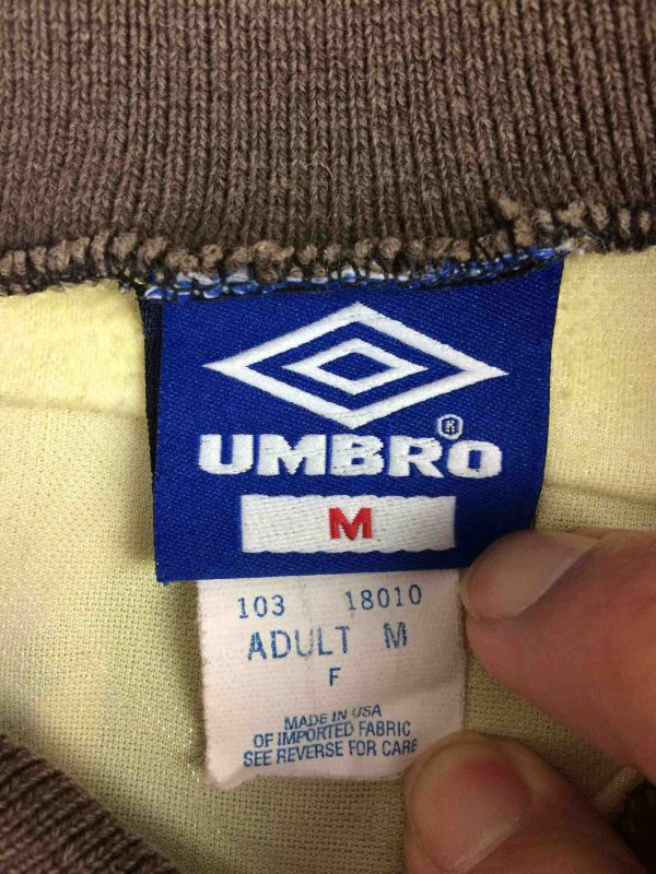 UMBRO Jersey VTG 90s Made in USA Goalkeeper Gabba Vintag 1 scaled - UMBRO Maillot Vintage 90s Made in USA Goal