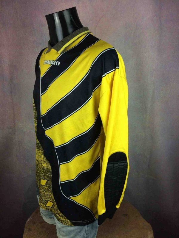 UMBRO Jersey VTG 90s Made in USA Goalkeeper Gabba Vintag 4 scaled - UMBRO Maillot Vintage 90s Made in USA Goal