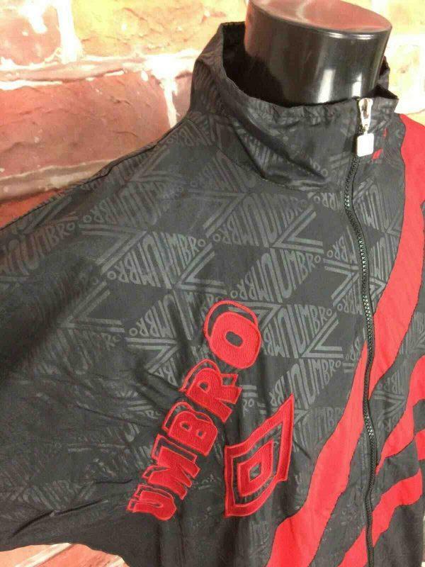 UMBRO Veste Vintage 90s Double Design Nylon Gabba Vintage 3 - UMBRO Veste Vintage 90s Doublé Design Nylon