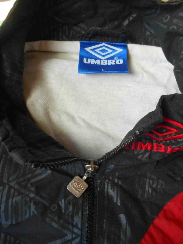 UMBRO Veste Vintage 90s Double Design Nylon Gabba Vintage 6 - UMBRO Veste Vintage 90s Doublé Design Nylon
