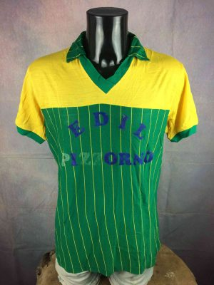 VINTAGE 80s Jersey Made in Italy Porté Worn - Gabba Vintage (2)
