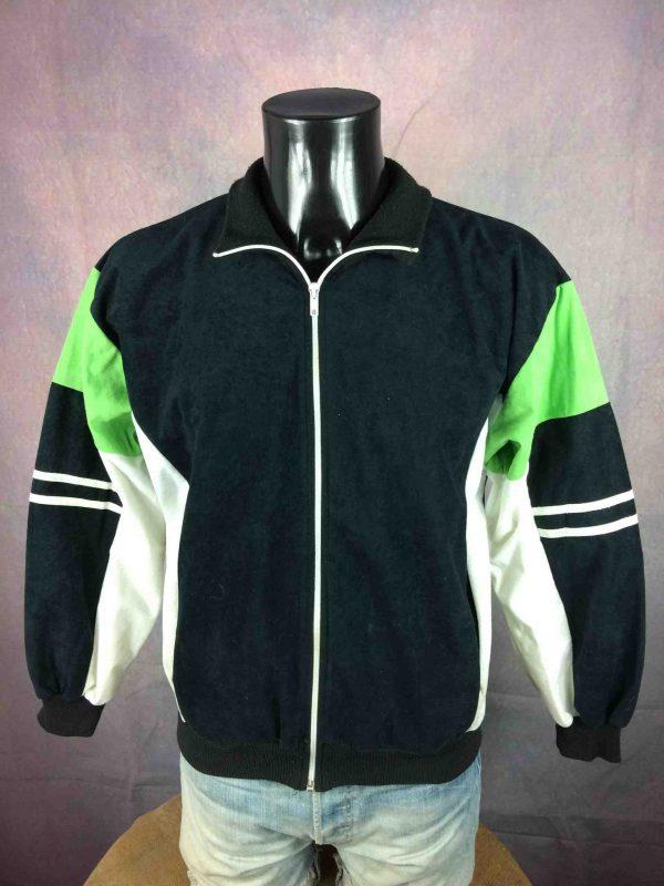 Veste Vintage Année 80s, Inspiration modèle Terminator, Sport Rave Old School Y2K