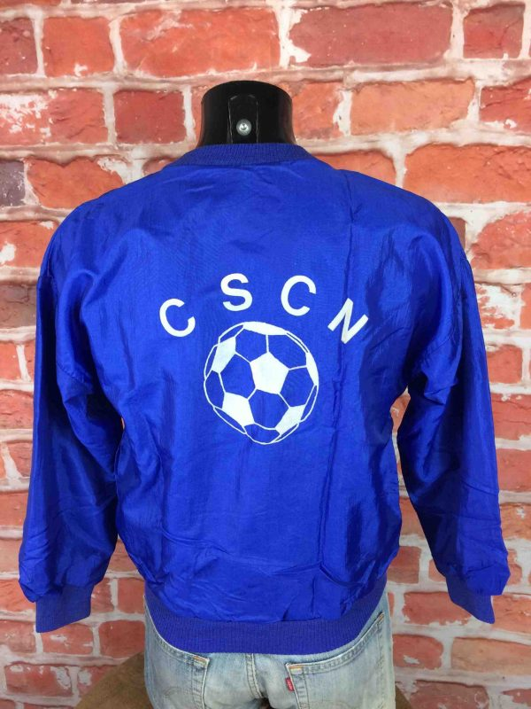 VINTAGE 80s Windbreaker Veste Football CSCN Gabba Vintage 1 scaled - VINTAGE 80s Windbreaker Veste Football CSCN