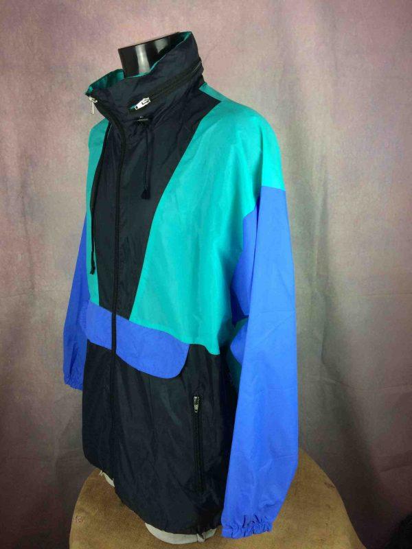 VINTAGE 90s Rain Jacket Impermeable Nylon Gabba Vintage 3 scaled - VINTAGE 90s Rain Jacket Impermeable Nylon
