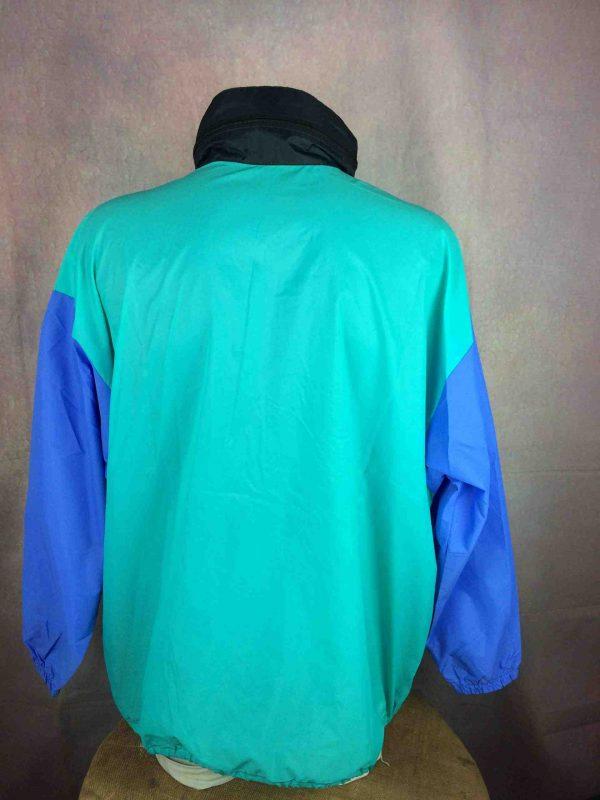 VINTAGE 90s Rain Jacket Impermeable Nylon Gabba Vintage 4 scaled - VINTAGE 90s Rain Jacket Impermeable Nylon