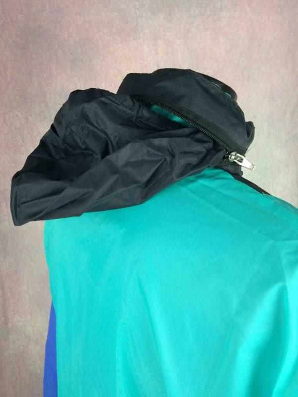 VINTAGE 90s Rain Jacket Impermeable Nylon Gabba Vintage 5 scaled - VINTAGE 90s Rain Jacket Impermeable Nylon
