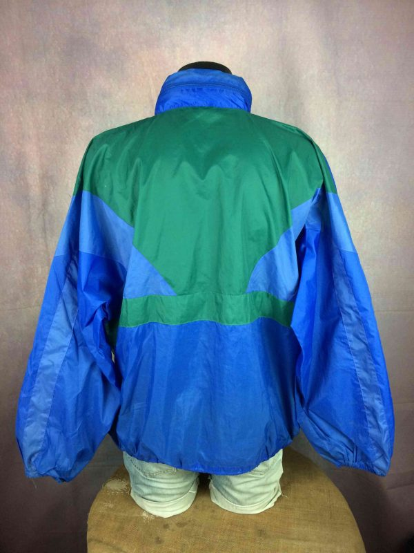 VINTAGE 90s Rain Jacket Nylon Waterproof Y2K Gabba Vintage 4 scaled - VINTAGE 90s Rain Jacket Nylon Waterproof Y2K