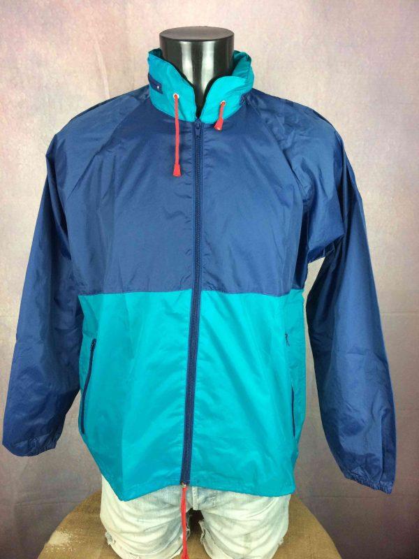 VINTAGE 90s Rain Jacket Waterproof Rave Y2K Gabba Vintage 2 scaled - VINTAGE 90s Rain Jacket Waterproof Rave Y2K