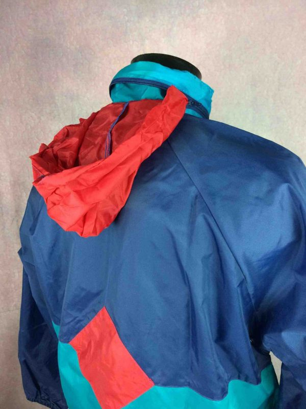VINTAGE 90s Rain Jacket Waterproof Rave Y2K Gabba Vintage 5 scaled - VINTAGE 90s Rain Jacket Waterproof Rave Y2K