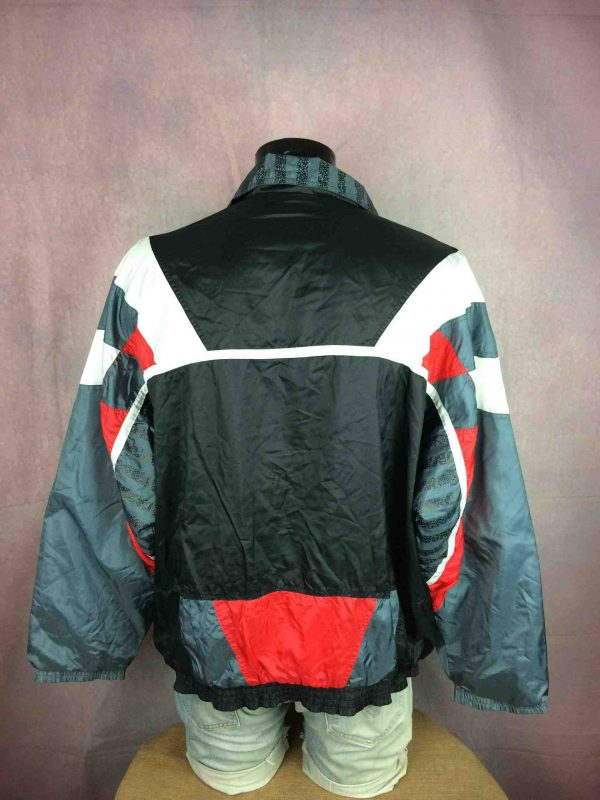 VINTAGE 90s Windbreaker Veste Double Design Gabba Vintage 1 scaled - VINTAGE 90s Windbreaker Veste Doublé Design