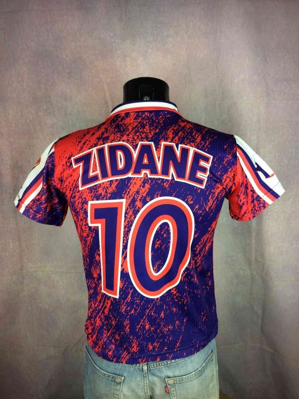 ZIDANE Jersey #10 VTG 90s Champions France - Gabba Vintage