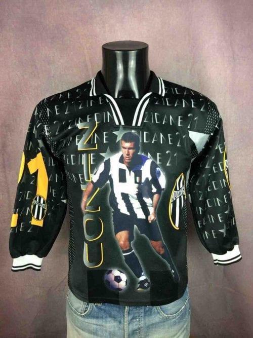 Maillot ZIDANE , Copyright Zinedine Zidane, Année 1998, Made in France, manches longues, Véritable vintage années 90, #10 Juventus France World Cup Football