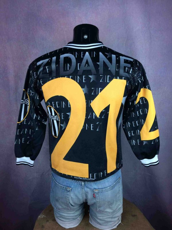 ZIDANE Jersey 1998 Juventus Made in France Gabba Vintage 3 scaled - ZIDANE Maillot 1998 Juventus France Vintage