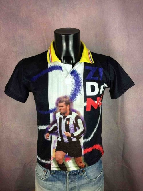 ZIDANE Jersey #21 Official ZZ 1998 Juventus - Gabba Vintage