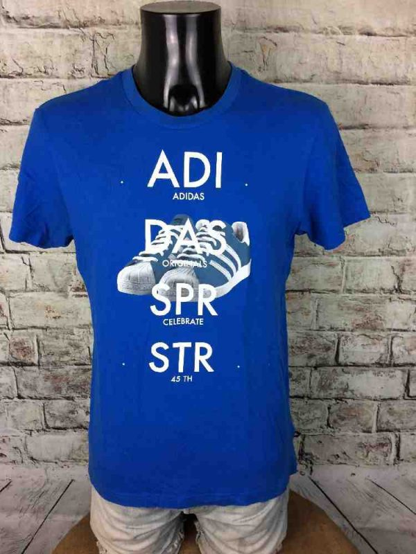 ADIDAS T Shirt Celebrate 45th 1969 SPR STR Gabba Vintage 3 - ADIDAS T-Shirt Celebrate 45th 1969 SPR STR