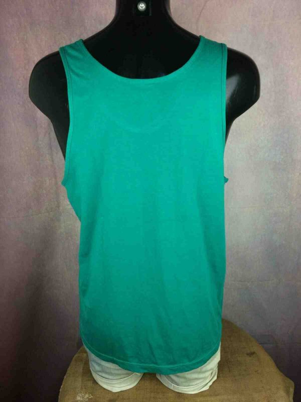 ADIDAS Tank Top Vintage 80s Made in France Gabba Vintage 4 - ADIDAS Tank Top Vintage 80s Made in France