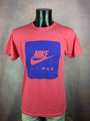 AIR MAX T-Shirt Made in USA Vintage 90s - Gabba Vintage (1)