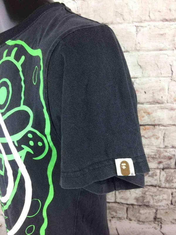 BAPE x SPONGEBOB T Shirt Ape Made in Japan Gabba Vintage 3 - BAPE x SPONGEBOB T-Shirt Ape Made in Japan