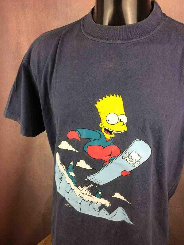 BART T-Shirt Vintage 2002 Fox The Simpsons - Gabba Vintage (2)