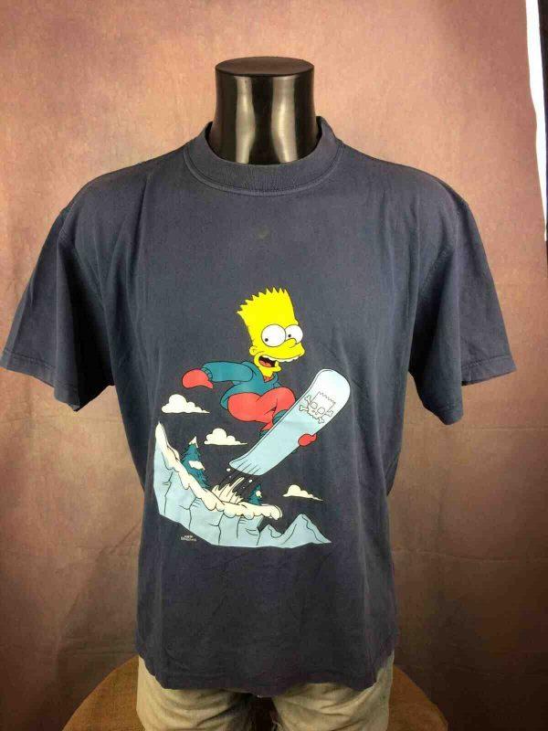 BART T Shirt Vintage 2002 Fox The Simpsons Gabba Vintage 3 - THE SIMPSONS T-Shirt Bart Vintage 2002 Fox